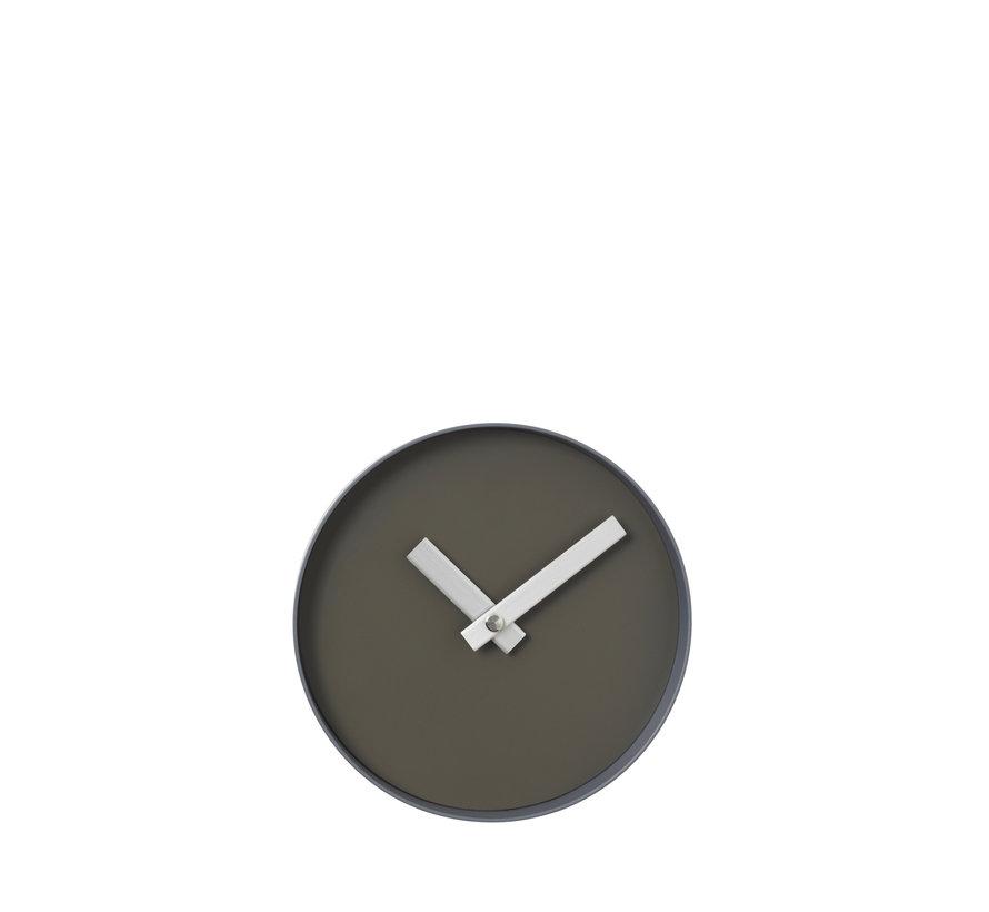 RIM reloj de pared 20 cm (asfalto) 65909