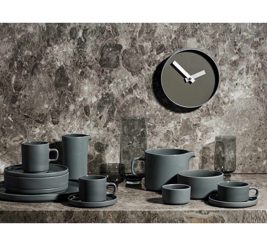 RIM wandklok 20 cm (steel gray) 65908