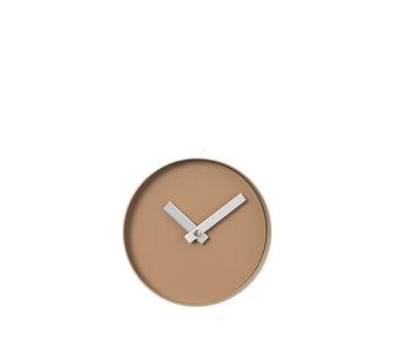Blomus Reloj de pared RIM 20 cm (bronceado indio)