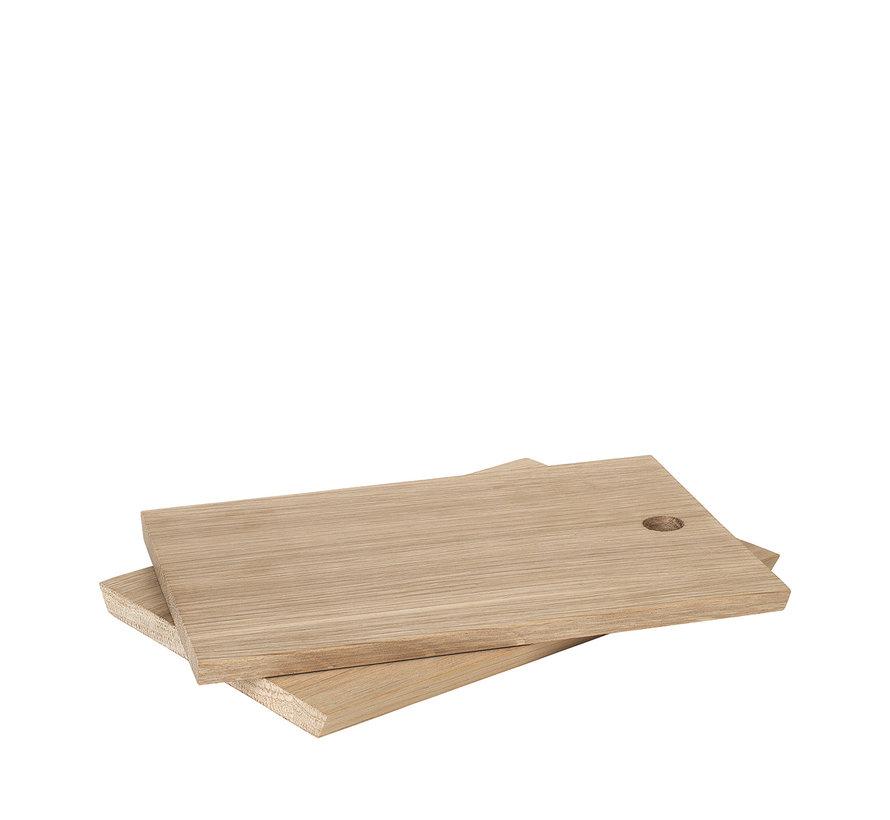 Tabla de cortar BORDA 20x14 cm (juego / 2) - 63795