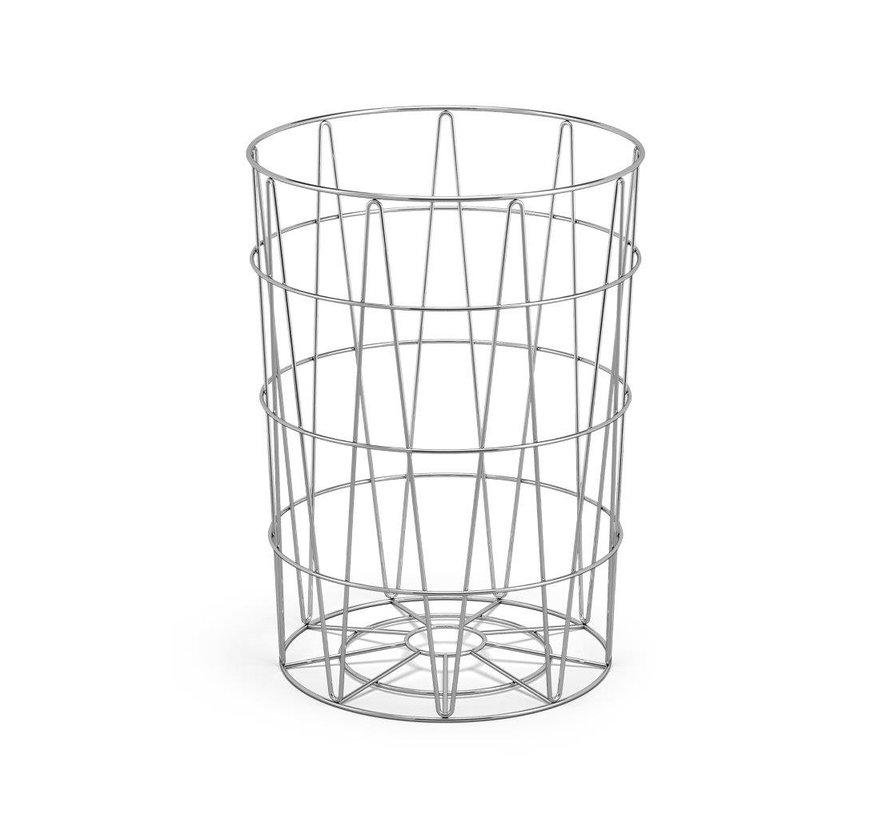 Cesto de basura SATONE, altura 39 cm y diámetro 30.5 cm - 40441