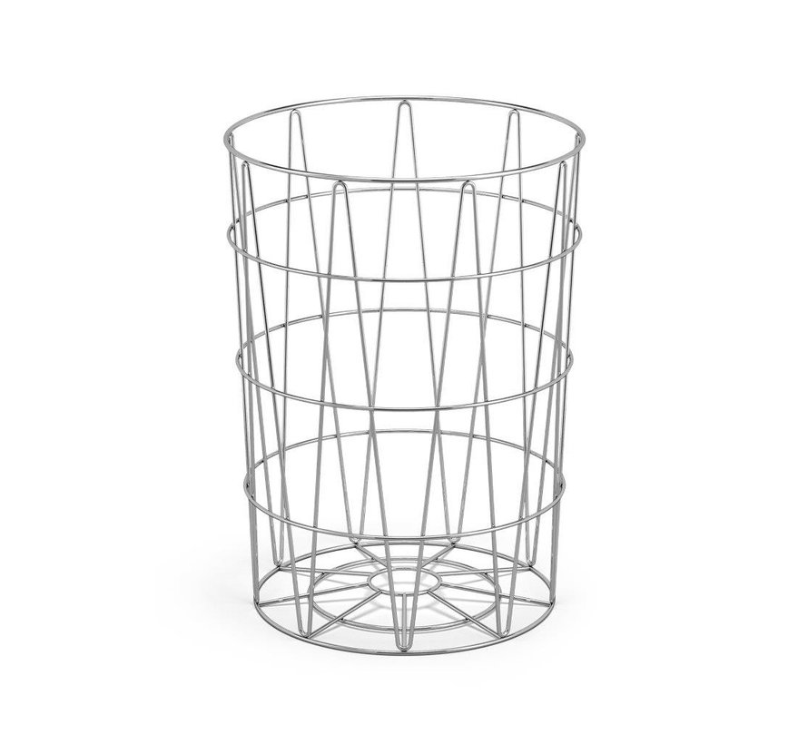 Trash basket SATONE, height 39 cm and diameter 30.5 cm - 40441