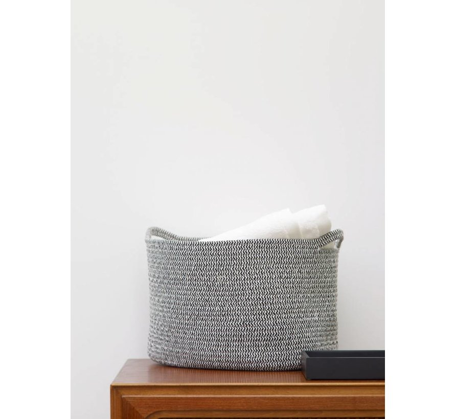 Storage basket RENA small - Black (RENSBS-09)