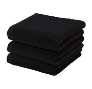 Aquanova Handdoek set/3 LONDON kleur Black-09 (55x100cm)