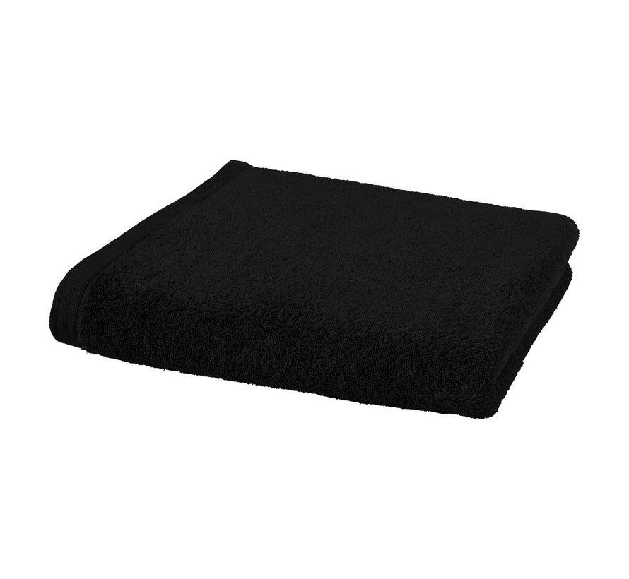 Bath towel set / 3 LONDON color black-09 (70x130cm)