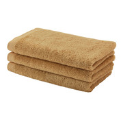 Aquanova Guest towel set / 6 LONDON color ocher-443