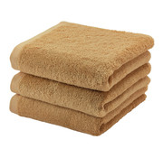 Aquanova Towel set / 3 LONDON color Ocher-443 (55x100cm)