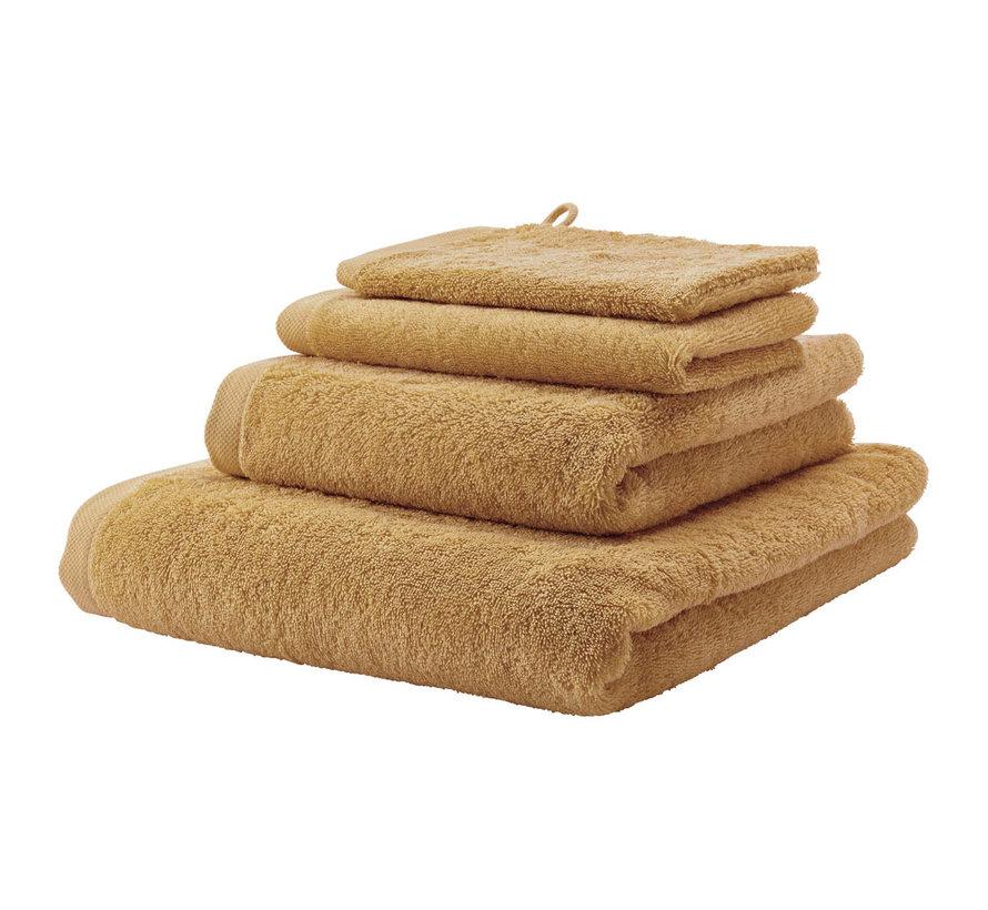 Handdoek set/3 LONDON kleur Ochre-443 (55x100cm)