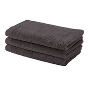 Aquanova Guest towel set / 6 LONDON color chocolate-101