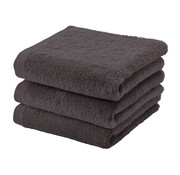 Aquanova Handdoek set/3 LONDON kleur Chocolate-101 (55x100cm)