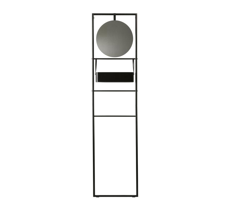 Vægstativ med spejl JAX Black-09 (JAXWRM-09)