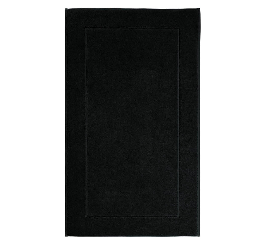 Bath mat LONDON Black-09, black (LONBM-09)