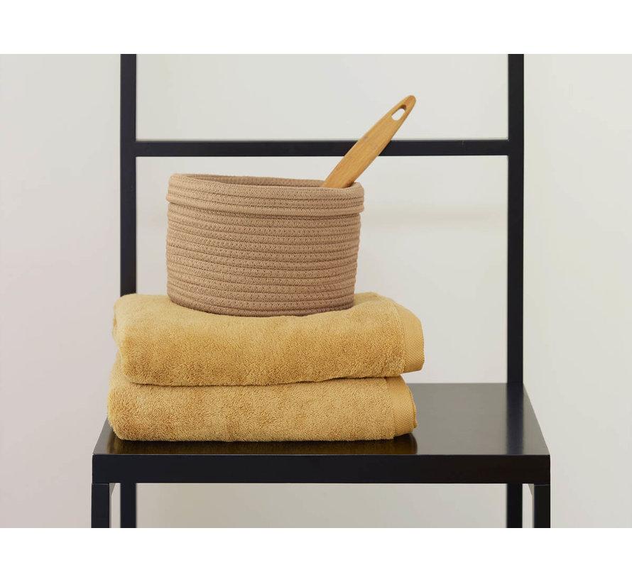 Juego de toallas de baño / 3 LONDRES color ocre-443 (70x130cm)