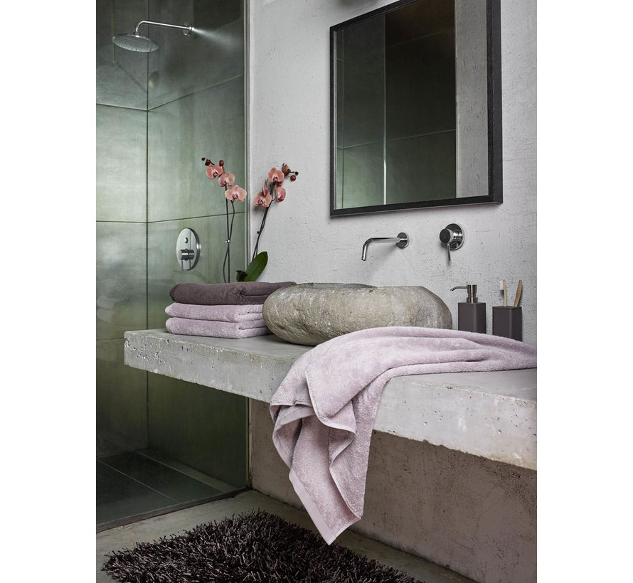 Handtuchset / 3 LONDON Farbe Orchid-811 (55x100cm)