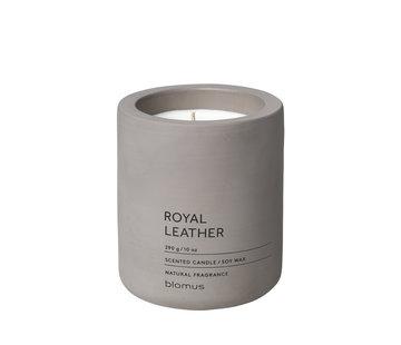 Blomus FRAGA geurkaars Royal Leather (290 gram)