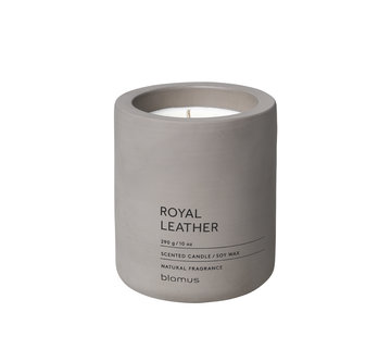 Blomus FRAGA scented candle Royal Leather (290 grams)