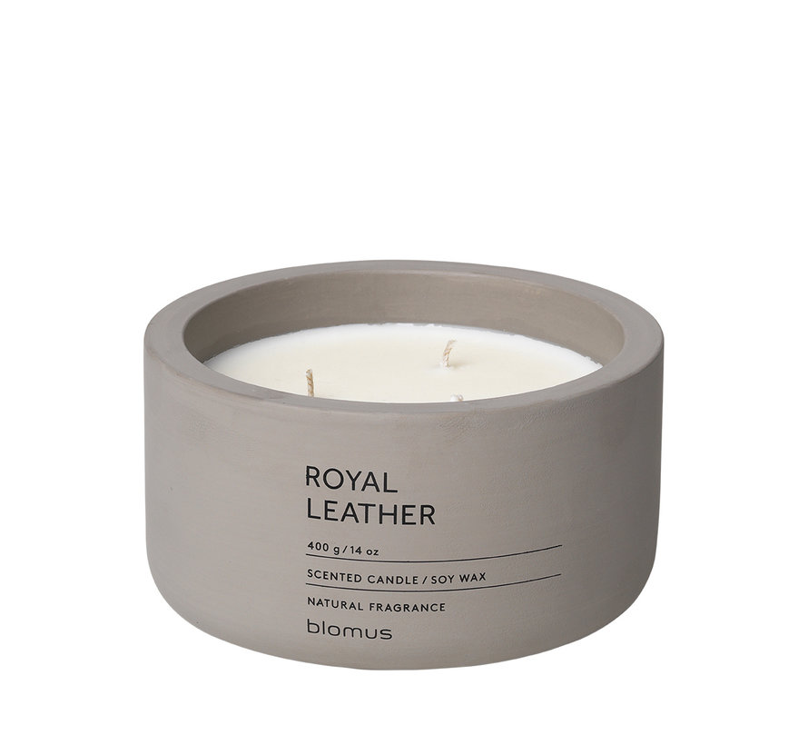 FRAGA scented candle Royal Leather (400 grams) 65961