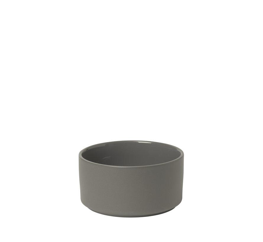 MIO kom/schaal 14 cm (set/4) kleur Pewter (63969)
