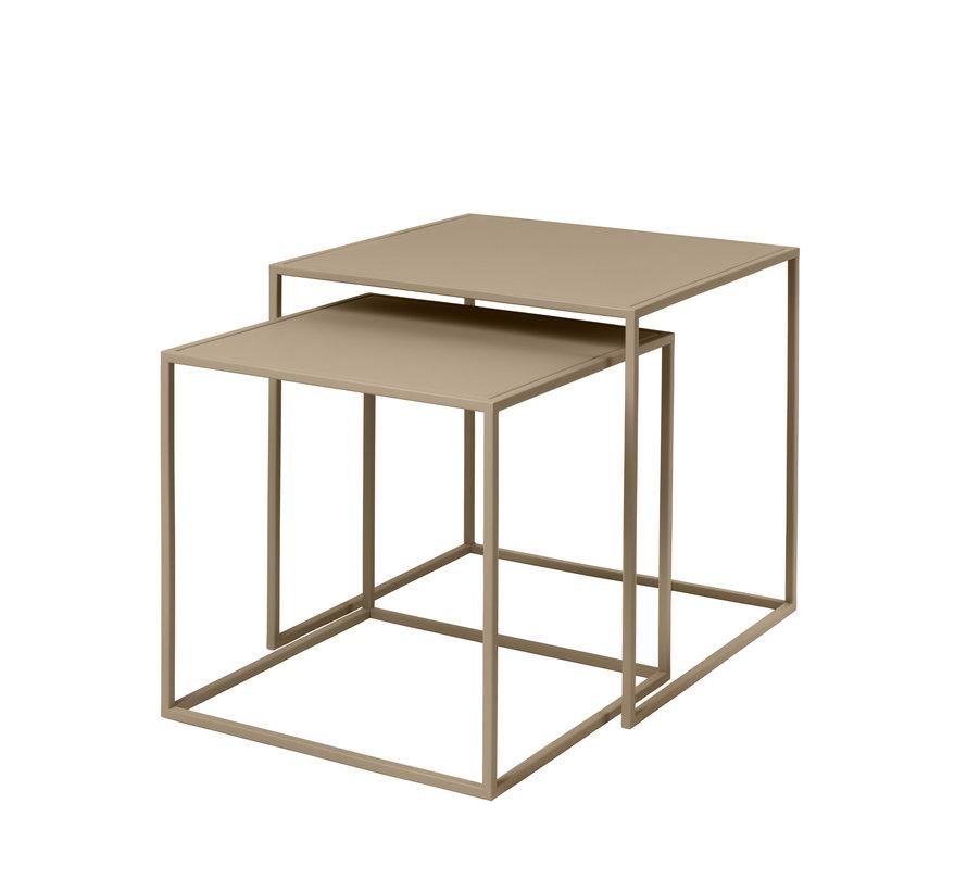 FERA set de 2 mesas auxiliares color Nomad (65987)
