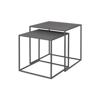 Blomus Tavolino FERA grigio acciaio (set / 2)