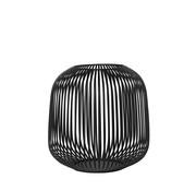 Blomus LITO windlight negro Ø27.5 cm (Mediano)