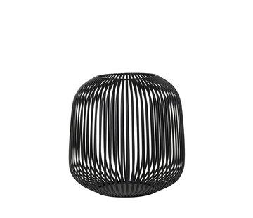 Blomus LITO windlight black Ø27.5 cm (Medium)
