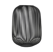 Blomus LITO windlight black Ø33 cm (Large)