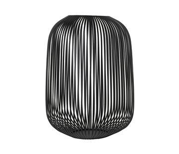 Blomus LITO windlight negro Ø33 cm (grande)