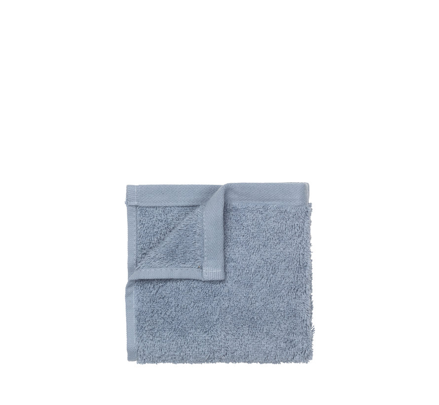 Gæst håndklæde 30x30 cm (sæt / 4) RIVA farve Ashley Blue (69181)