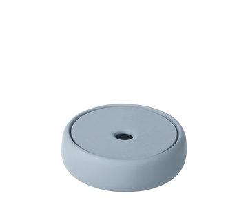Blomus Caja de almacenamiento / jabonera SONO Ashley Blue