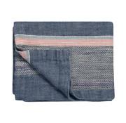 Vandyck PURE 35 plaid / bedspread 180x260 cm Faded Denim-184 (linen)