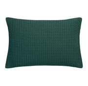Vandyck HOME Taie d'oreiller en piqué 40x55 cm Vert foncé-073