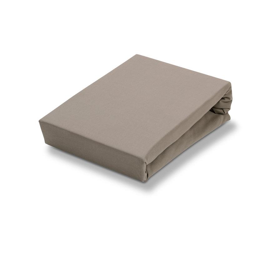 Jersey supreme hoeslaken Mole Grey-001 (stretch) SLKM8201