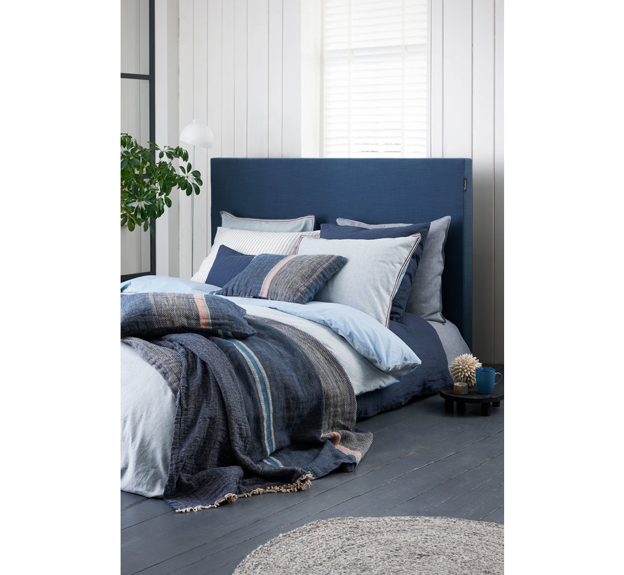 Duvet cover PURE 37 Faded Denim 200x220 cm (cotton / linen) PRSA19237