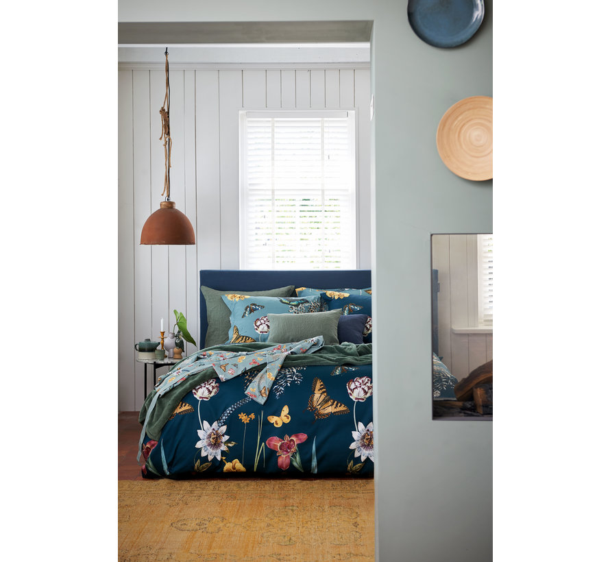 Duvet cover IN THE WIND Dusty Blue 140x220 cm (satin) SAM219228