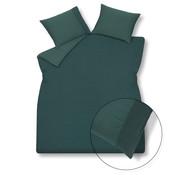 Vandyck Funda nórdica PURE 07 Verde oscuro, 140x220 cm (lino / algodón satinado)