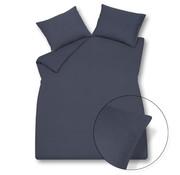 Vandyck Duvet cover PURITY 79 Nightblue 240x220 cm (linen / cotton)
