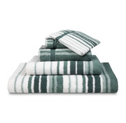 Vandyck ONTARIO badeværelse linned Earth Green-149