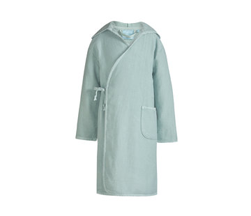 Vandyck Badjas KIDS Girls Celadon Green