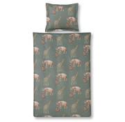 Vandyck Bettbezug KIDS Elephant 140x220 cm Oliv