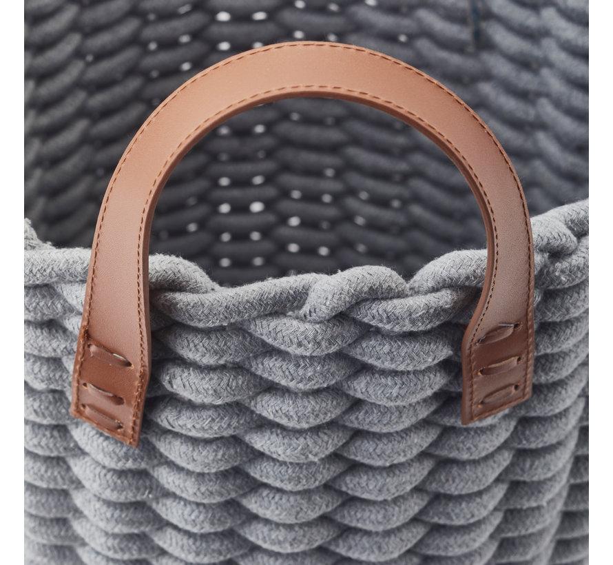 Cesto de la ropa RUDON Grey-92, gris (RUDLAS-92)
