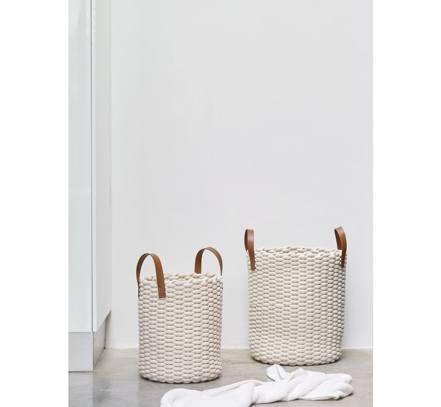 Cesto de la ropa RUDON Beige-15, beige (RUDLAS-15)