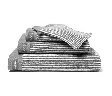 Vandyck Handdoek HOME Petit Ligne Mole Grey