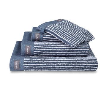 Vandyck Handdoek HOME Petit Ligne Vintage Blue