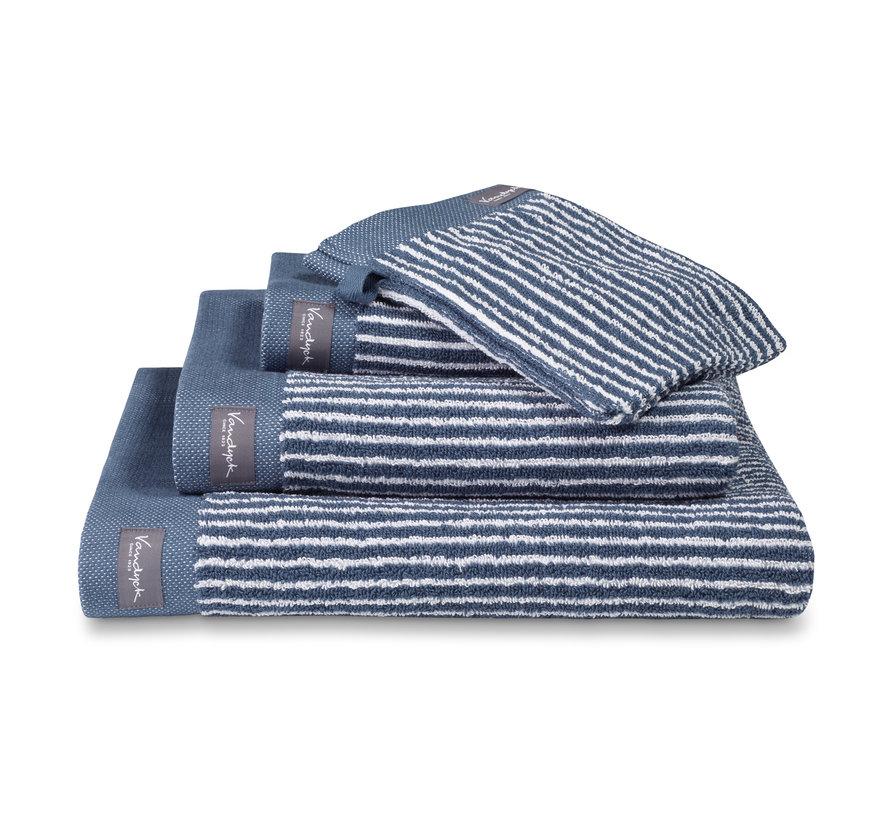 Håndklæde HJEM Petit Ligne farve Vintage Blue (BAKC15101)