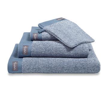 Vandyck Håndklæde HJEM Mouliné Vintage Blue