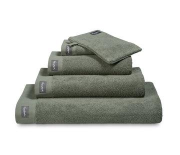 Vandyck Towel HOME Uni Olive
