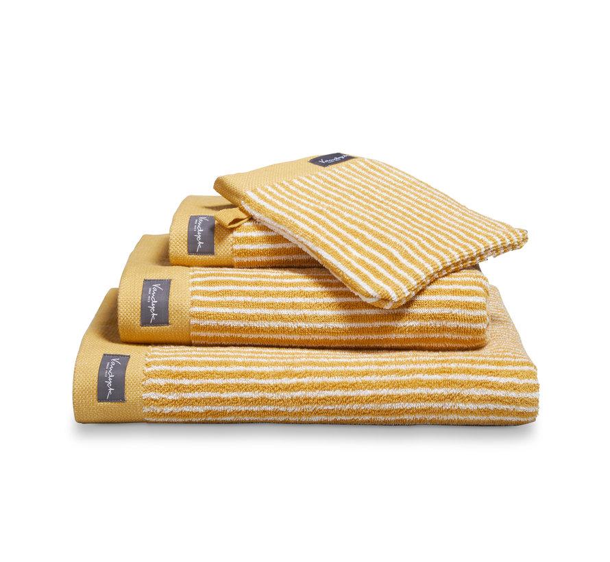 Håndklæde HJEM Petit Ligne farve Honey Gold (BAKC15101)