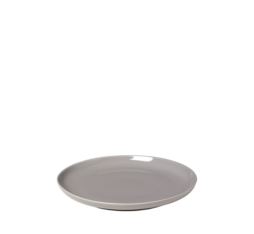RO flacher Teller 21 cm Trauertaube (64020) Set / 4