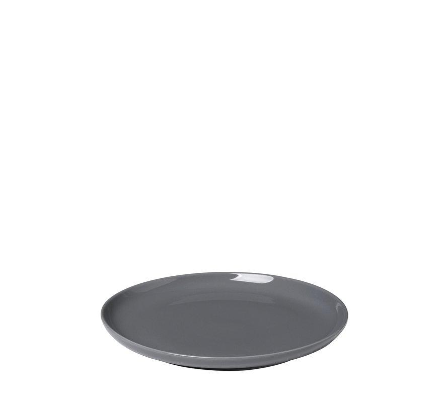 RO flad plade 21 cm Sharkskin (64000) sæt / 4